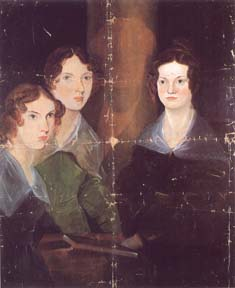 Anne, Emily, and Charlotte. Bramwell Bronte c 1834