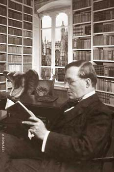 M.R. James in his study